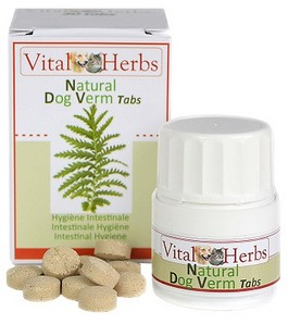NATURAL DOG VERM TABS