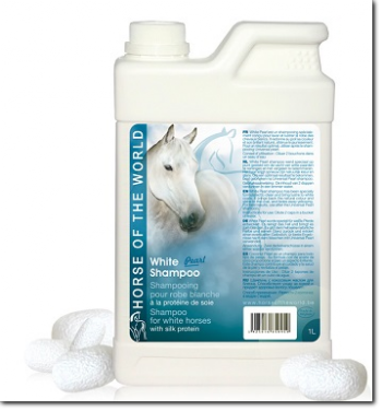shampooing pour chevaux blancs